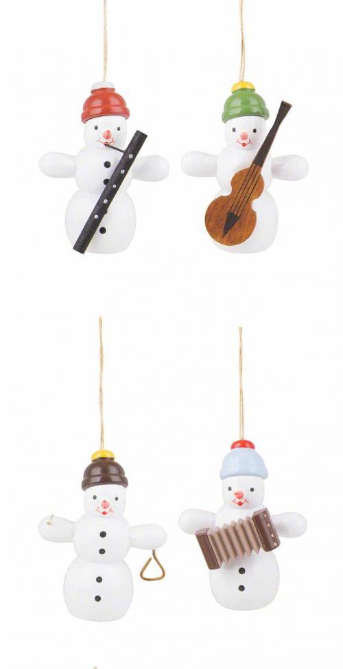 Tree Hanging Snowman Quartet (2)quartet (2)