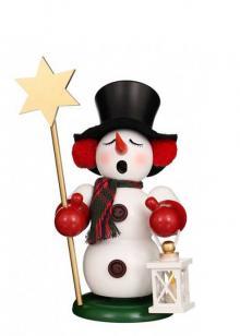 Smoker snowman star carrier