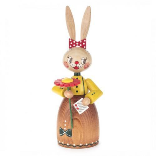 Easter figure bunny women in love