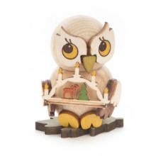Owl child with candle arch