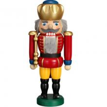 Nutcracker King red, 25cm