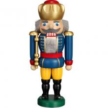 Nutcracker King blue, 25cm