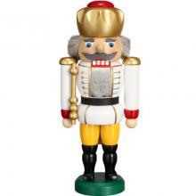 Nutcracker King white, 25cm