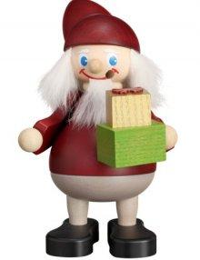 Smoker Christmas saint with gifts
