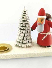 Kerzenhalter Weihnachtsmann