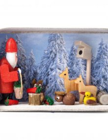 Miniatures in Matchbox - Christmas in the Winter Forest