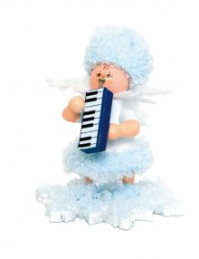 Snowflake with melodica