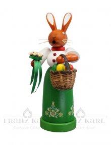 Incense figure rabbit woman