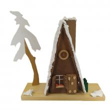 Smoking house gingerbread house