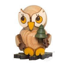 Owl child with tree