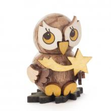 Owl child with star