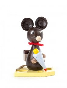 Mouse child with sugar bag