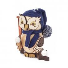 Incense figure owl with sledge