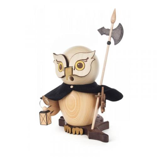Incense figure owl night watchman