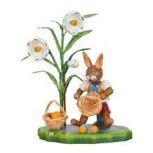 Hubrig collectible figures - easter basket