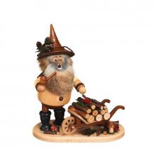 Smoker Gnome with push stick