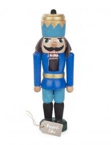 Handicraft set Nutcracker King, blue