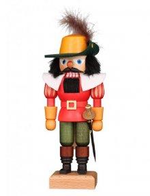 Nutcracker Musketeer, red