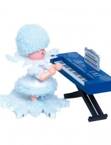 Snowflake with keyboard