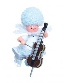 Snowflake with cello