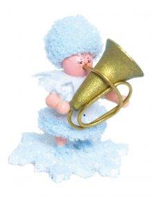 Snow Maiden with tuba