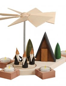 Table pyramid Octogonum, mountain gnome