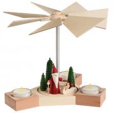 Table pyramid Hexagonum, Christmas gnome
