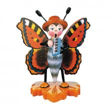 Butterfly Big fox with harmonica