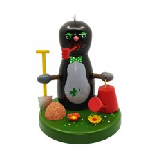 Incense figurine mole