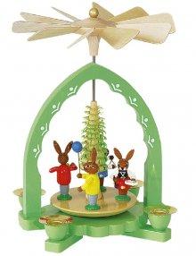 Easter pyramid rabbit children