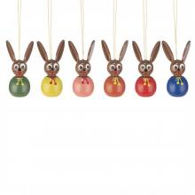 Hanging Easter bunnies two-tone