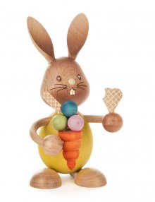 Easter bunny Stupsi with ice cream
