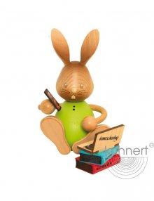 Easter bunny Stupsi in homeschooling