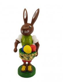 Bunny with an egg basket