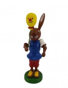 Bunny with a balloon