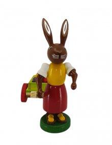 Rabbit with an egg cart