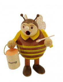 Mini ball smoking figure bee