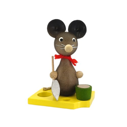 Mouse child with shovel and bucket