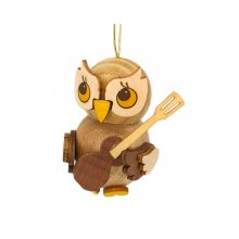 Hang owl child with guitar