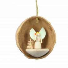 hangings angel in walnut shell
