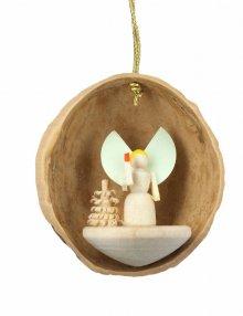 hangings angel in walnut shell