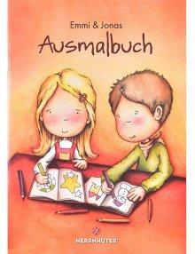 Moravian coloring book Emmi and Jonas