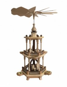 Pyramid of the birth of Christ, 2-tier natural
