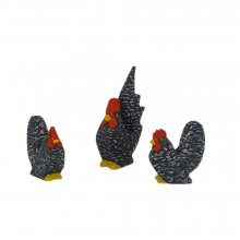 Chabo chickens, cranky