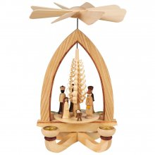 Candle pyramid of the birth of Christ