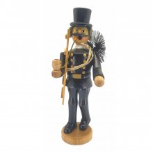 Incense burner chimney sweep