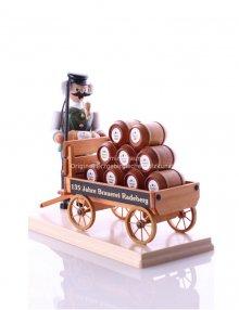 Incense figurine Radeberger beer coach