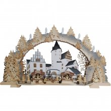 Light Arch Castle Christmas