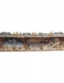 Panorama Light Arch Pedestal Erzgebirge