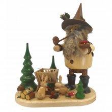 Smoker forest gnome feeding manger